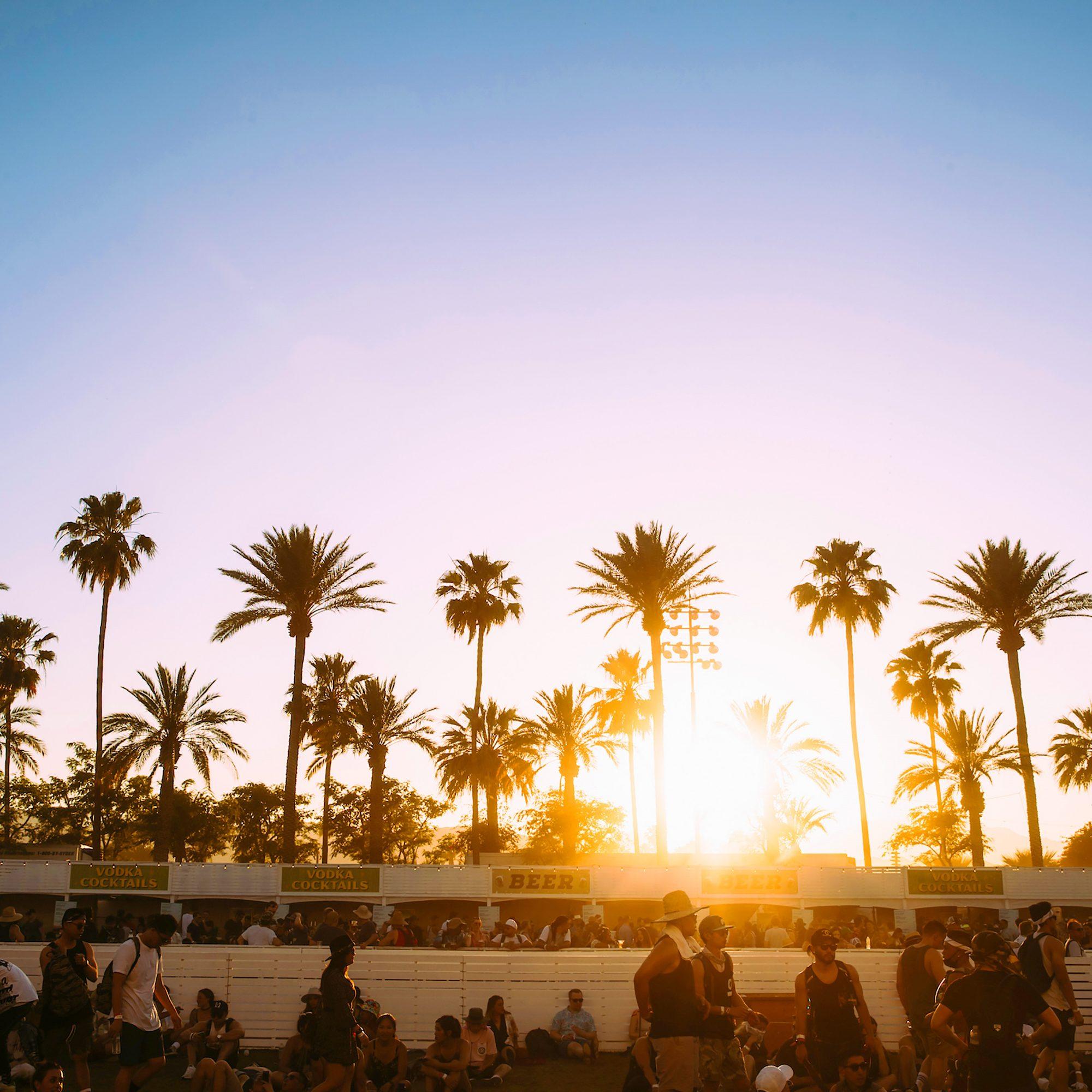 coachella sunset festival