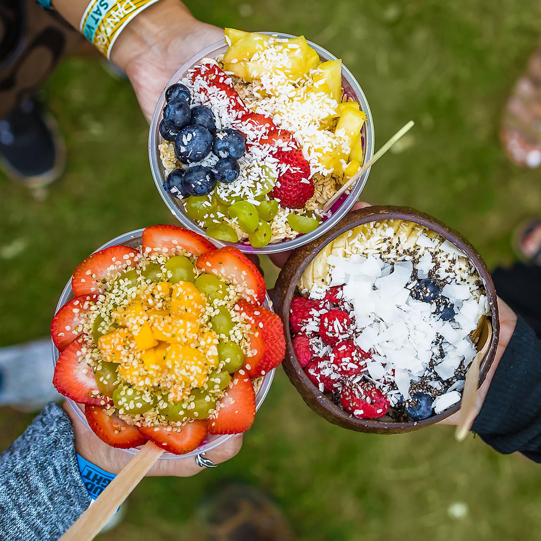 fruit smoothie bowls