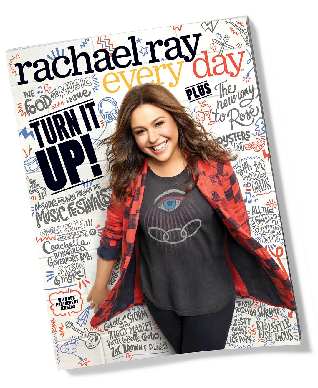 Rachael Ray Magazine June cover