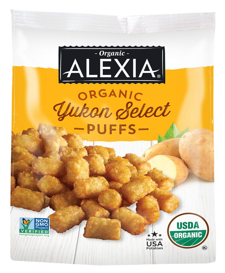 alexia yukon potato puffs