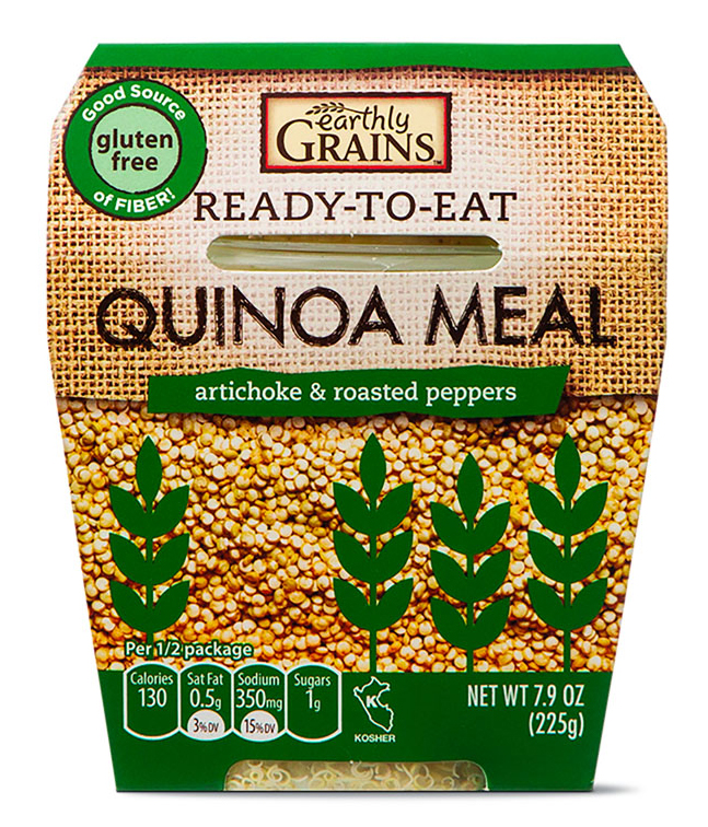 earthly grains quinoa meal