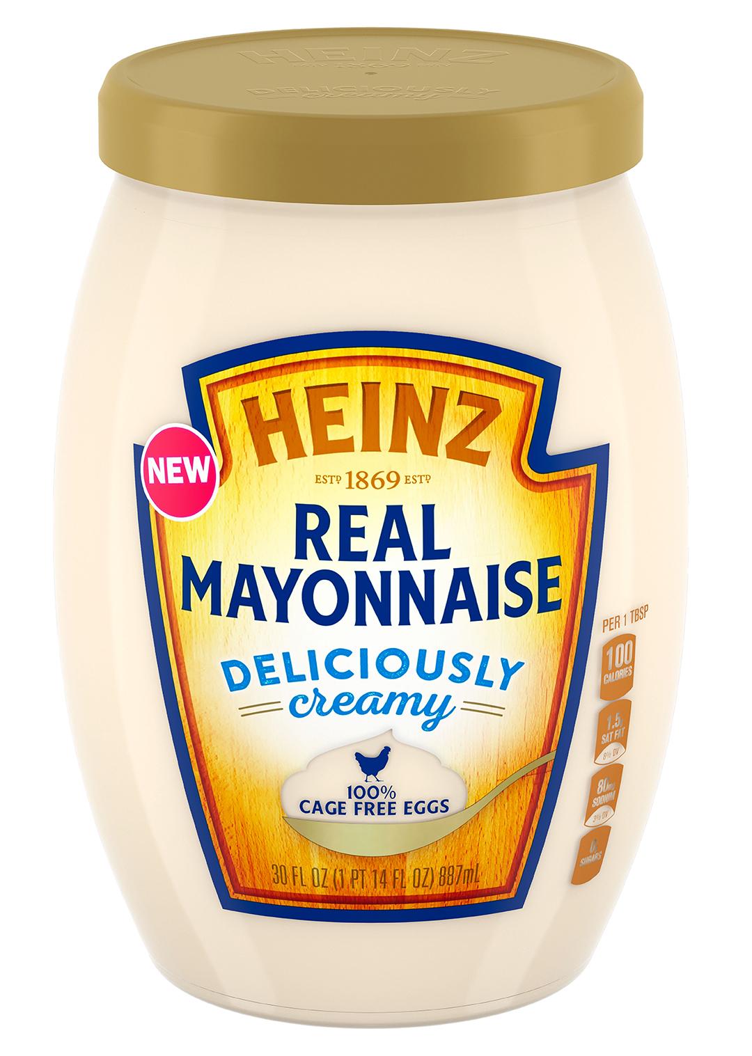 heinz mayonnaise jar