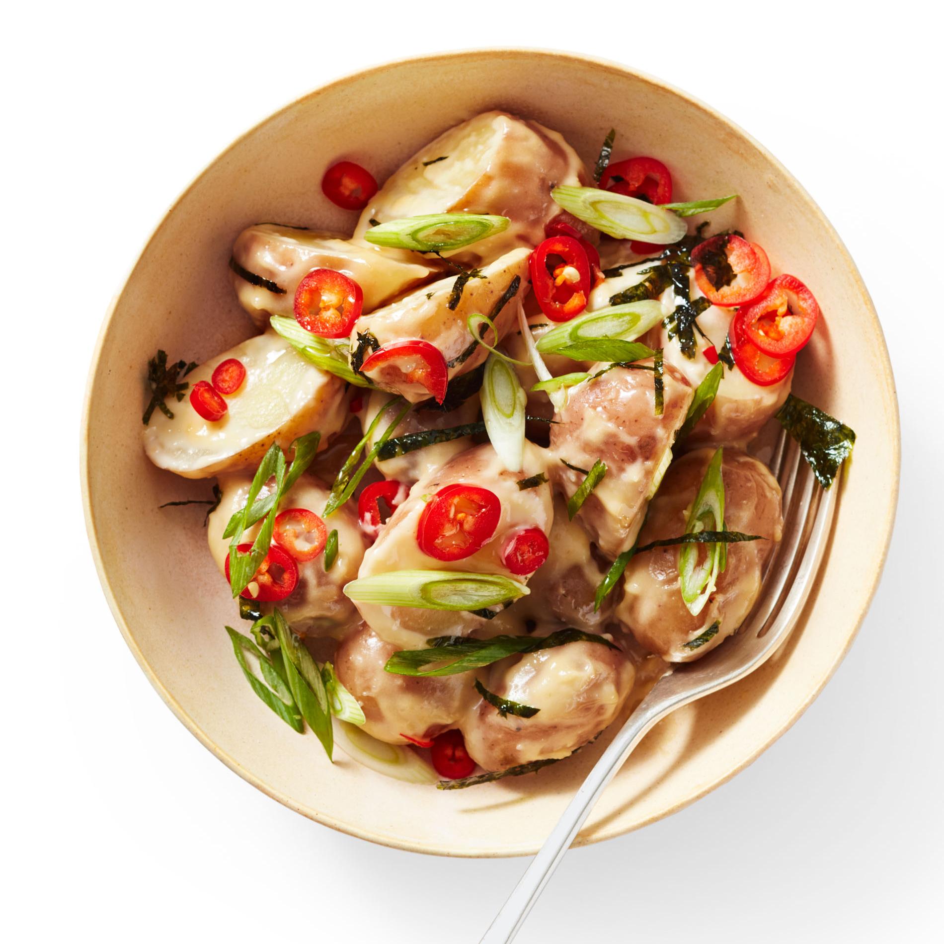 Miso-Sesame Potato Salad