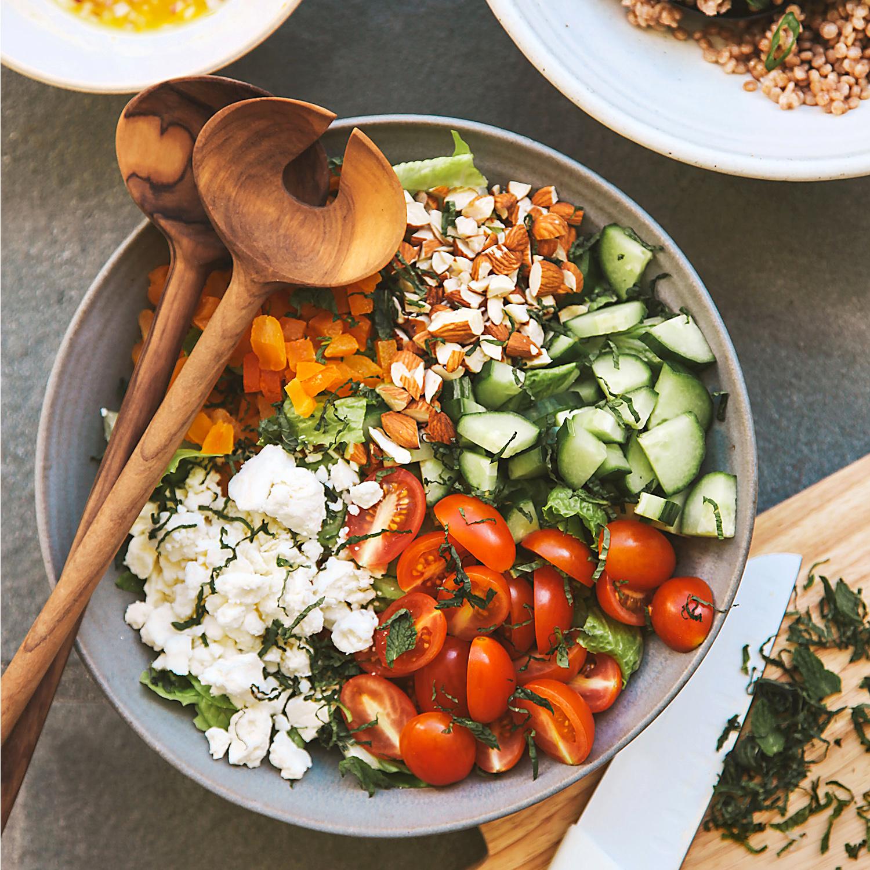Greek-Style Chopped Salad