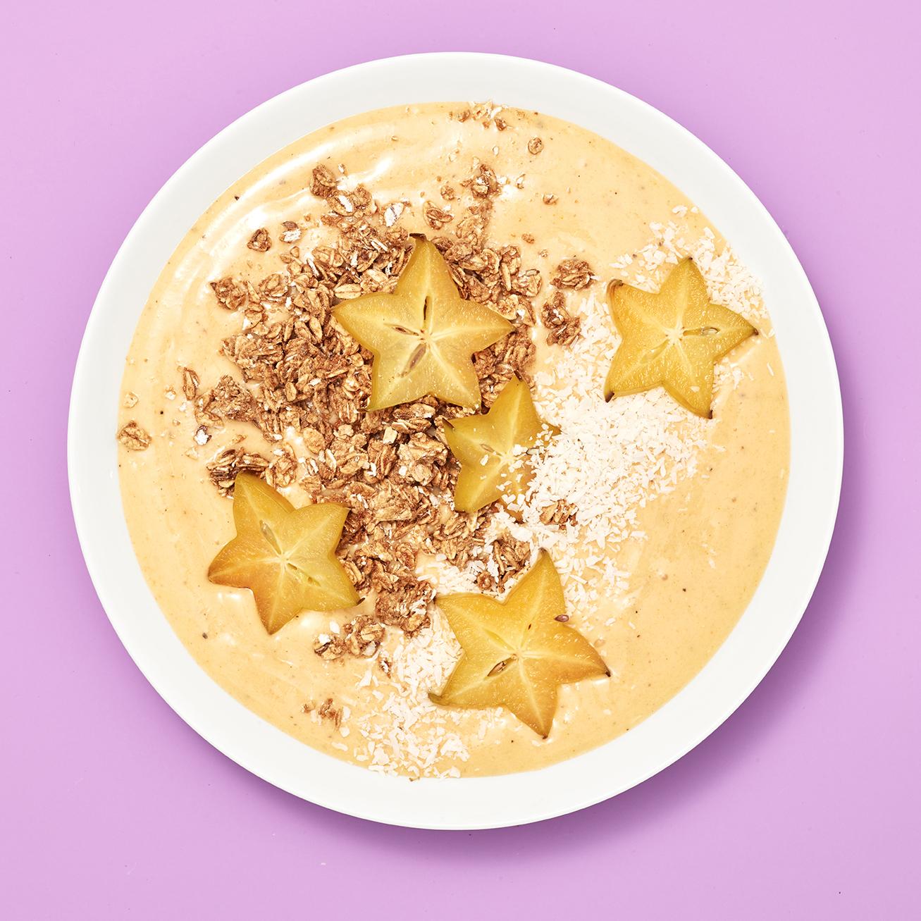 tropical star smoothie bowl