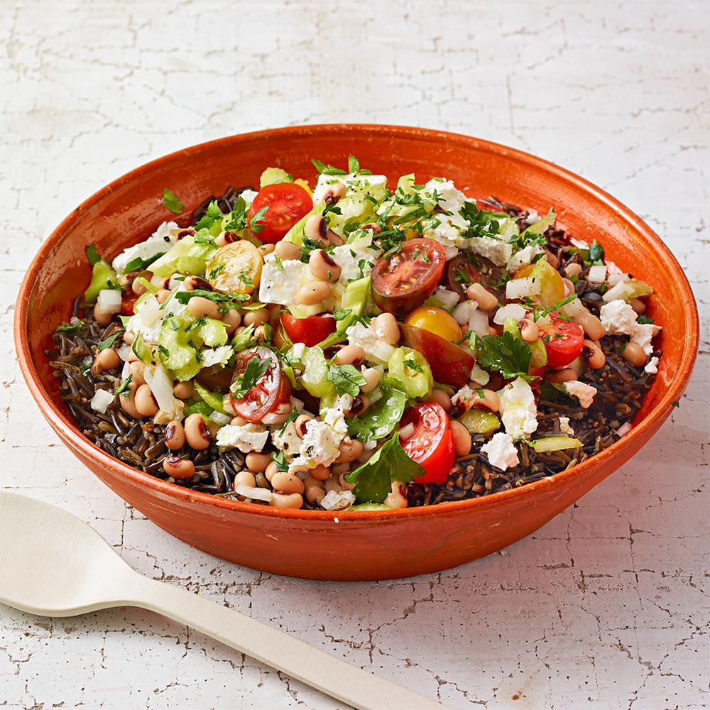 Wild Rice & Black-Eyed Pea Salad