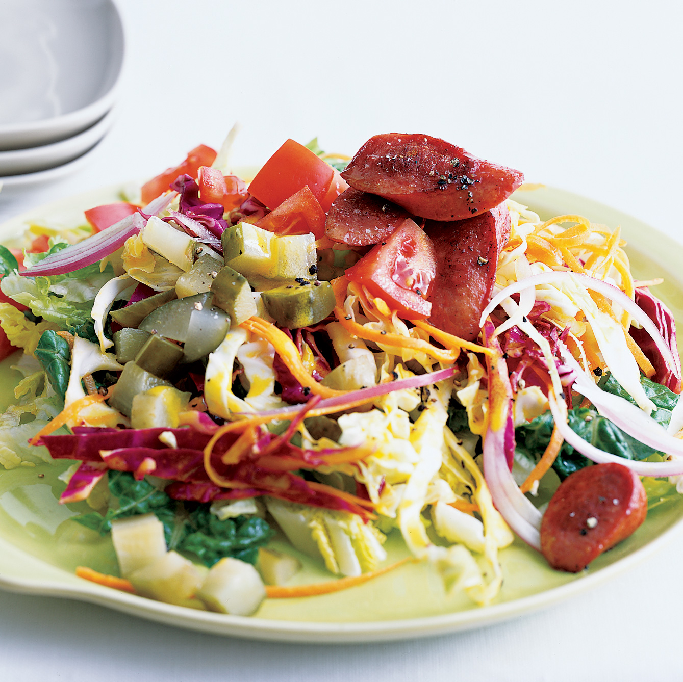 Chicago Dog Salad