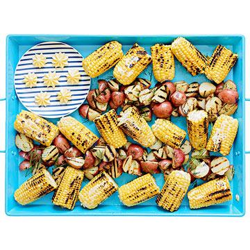 Corn and potato flag