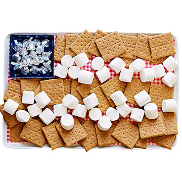 S'mores plate