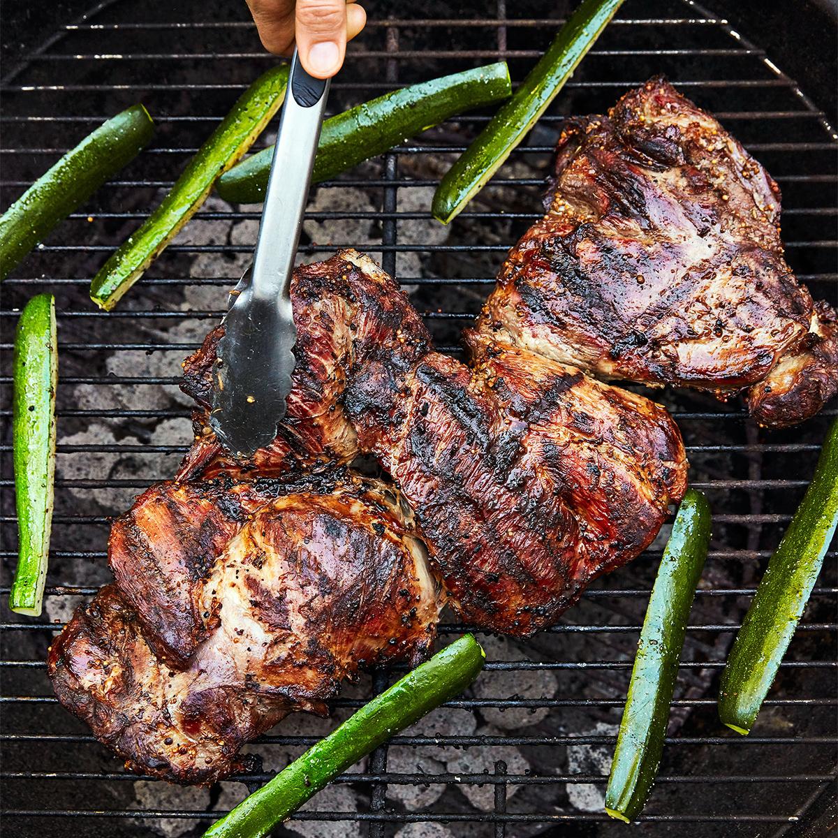 grilling lamb summer party
