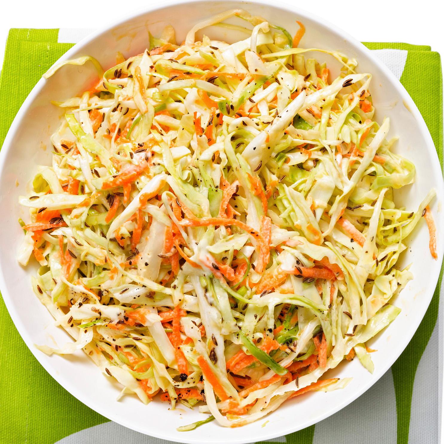Green Cabbage Coleslaw