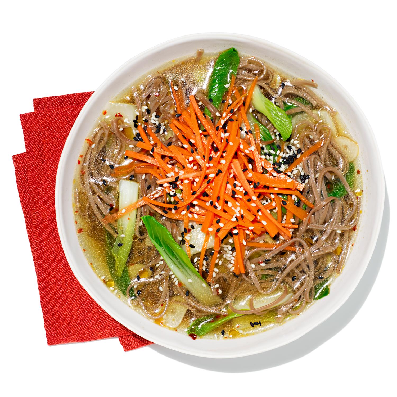 Sesame Soba Noodle Soup