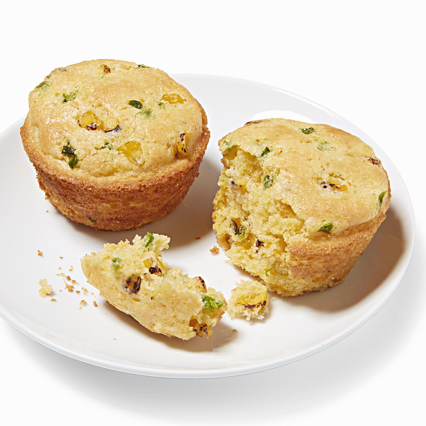Fire-Roasted Corn Muffins
