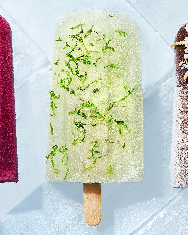 Frozen Margarita Ice Pops