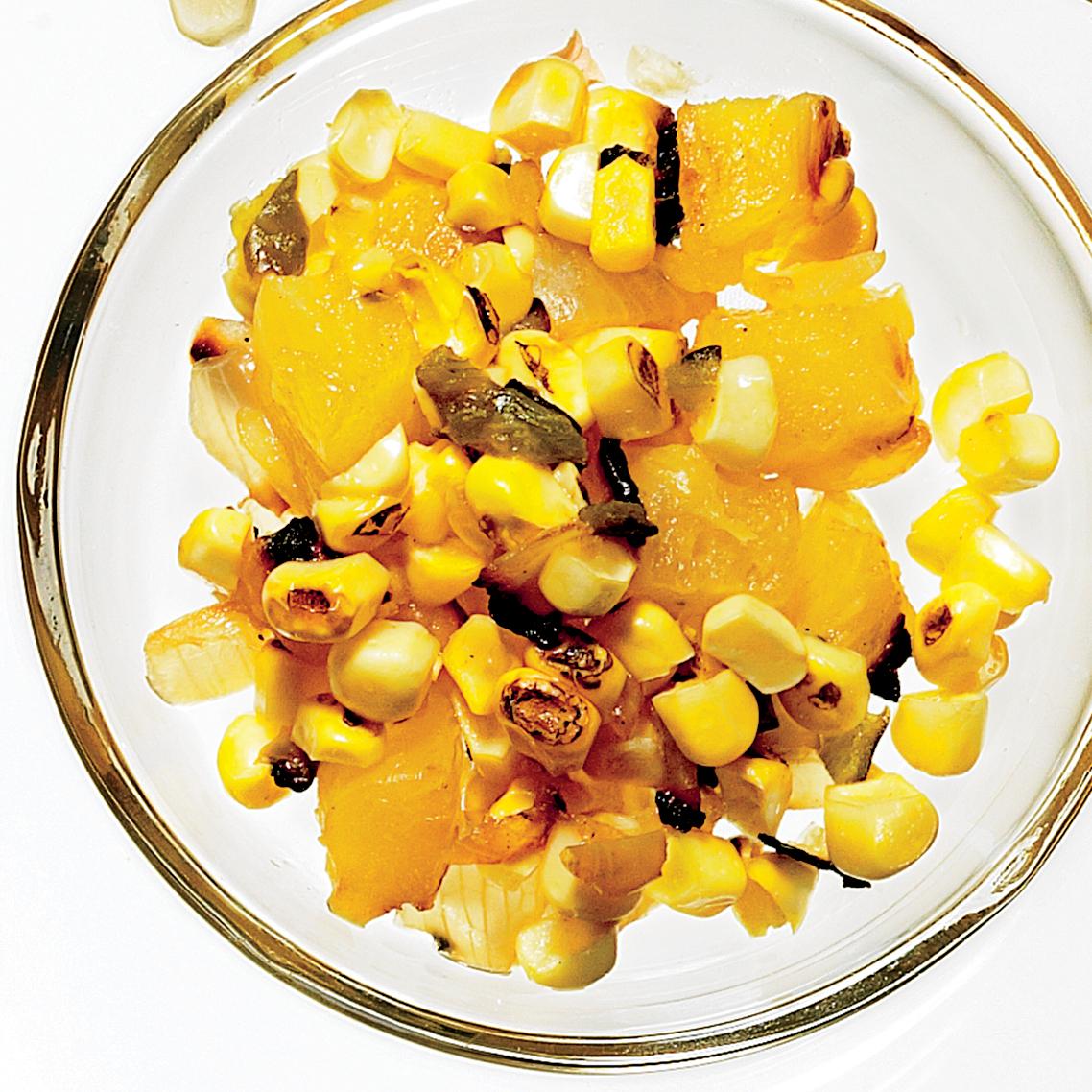 Grilled Pineapple-Corn Salsa