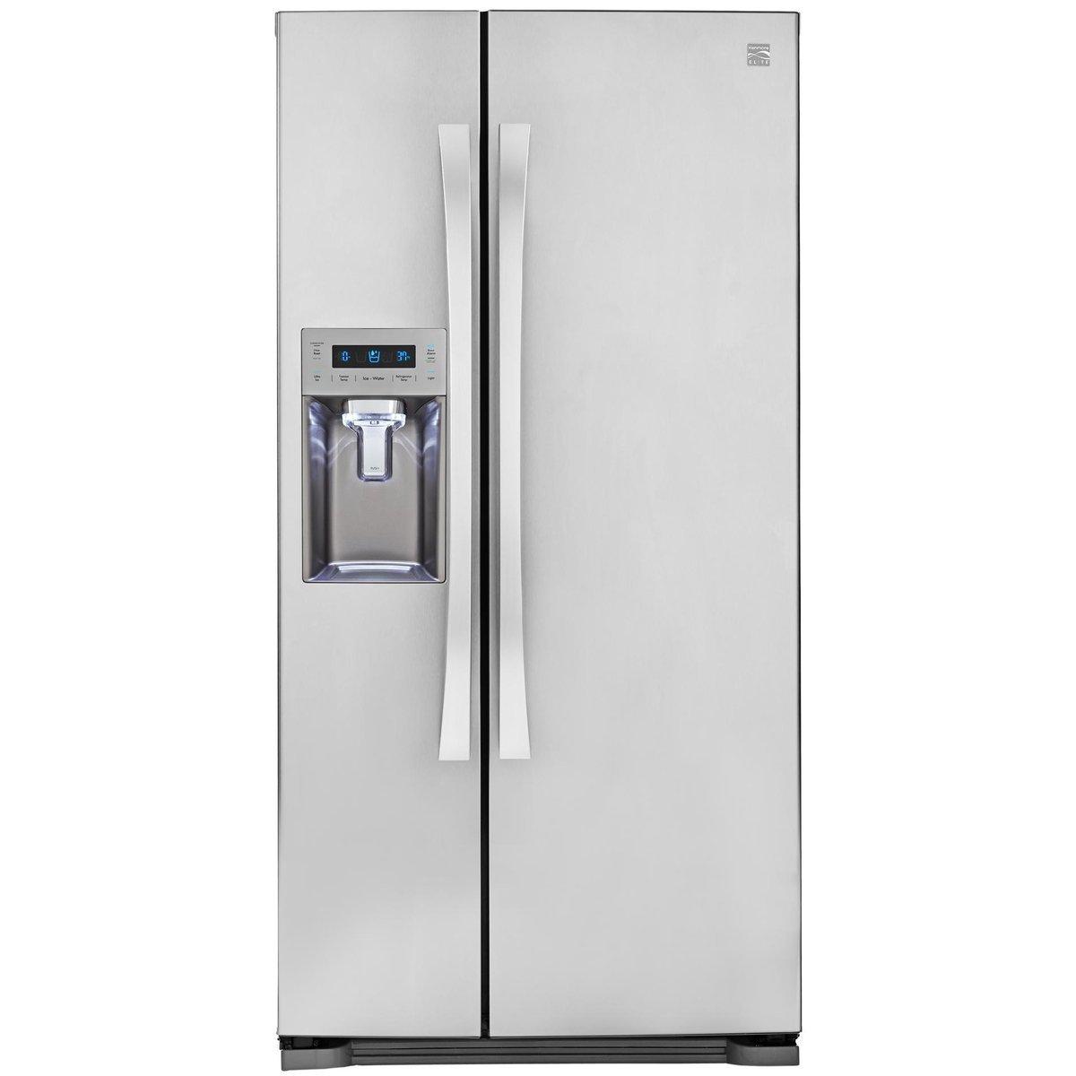 kenmore silver fridge