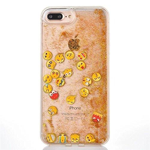 glittery emoji phone case