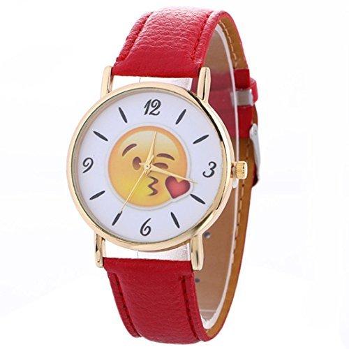 kissy emoji watch