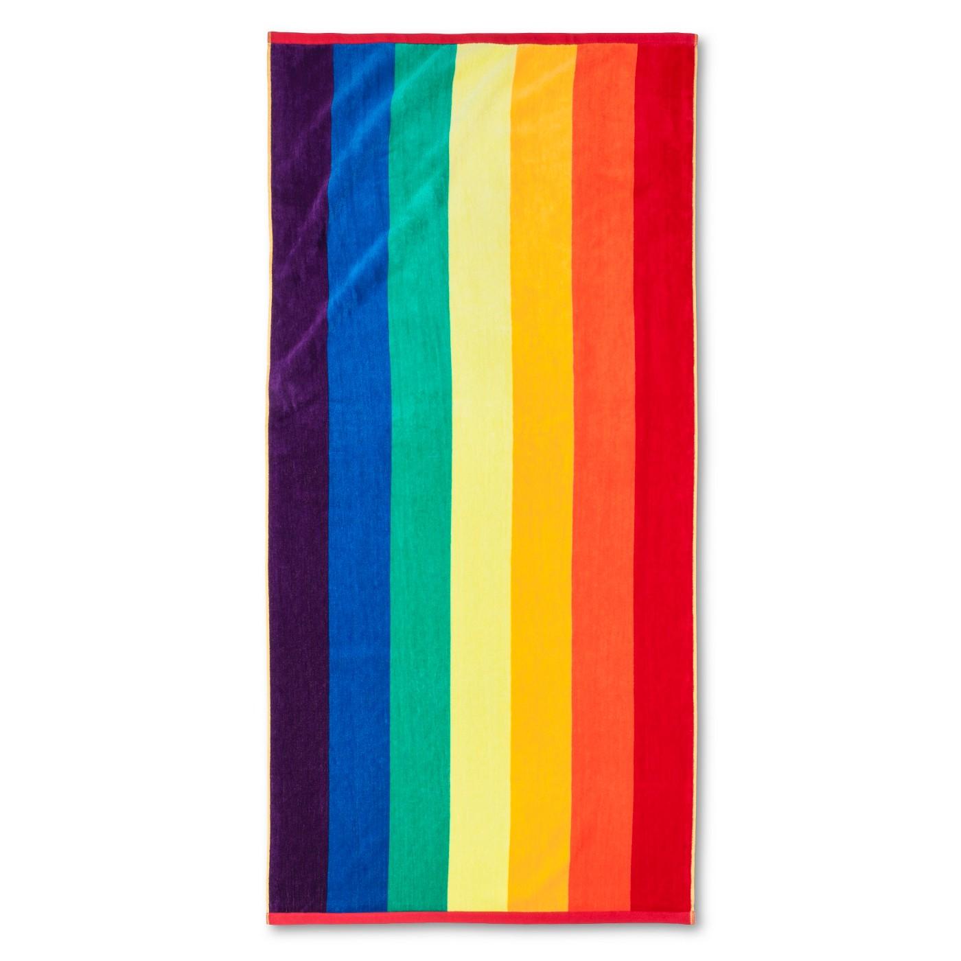 rainbow-pride-towel-target