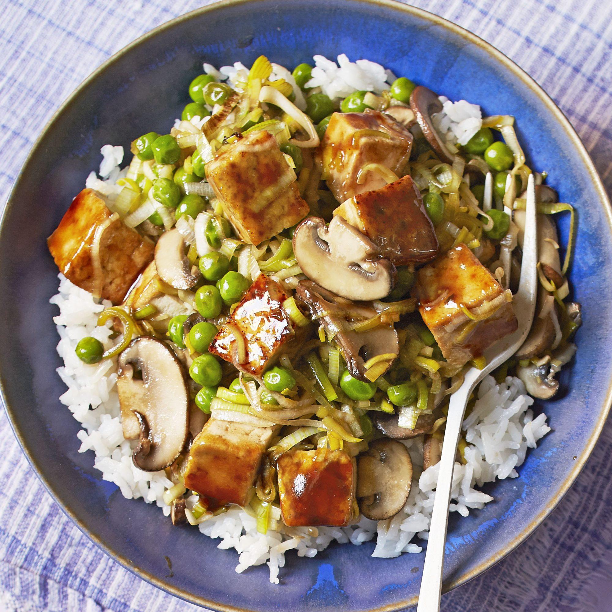 tofu veggie stir fry