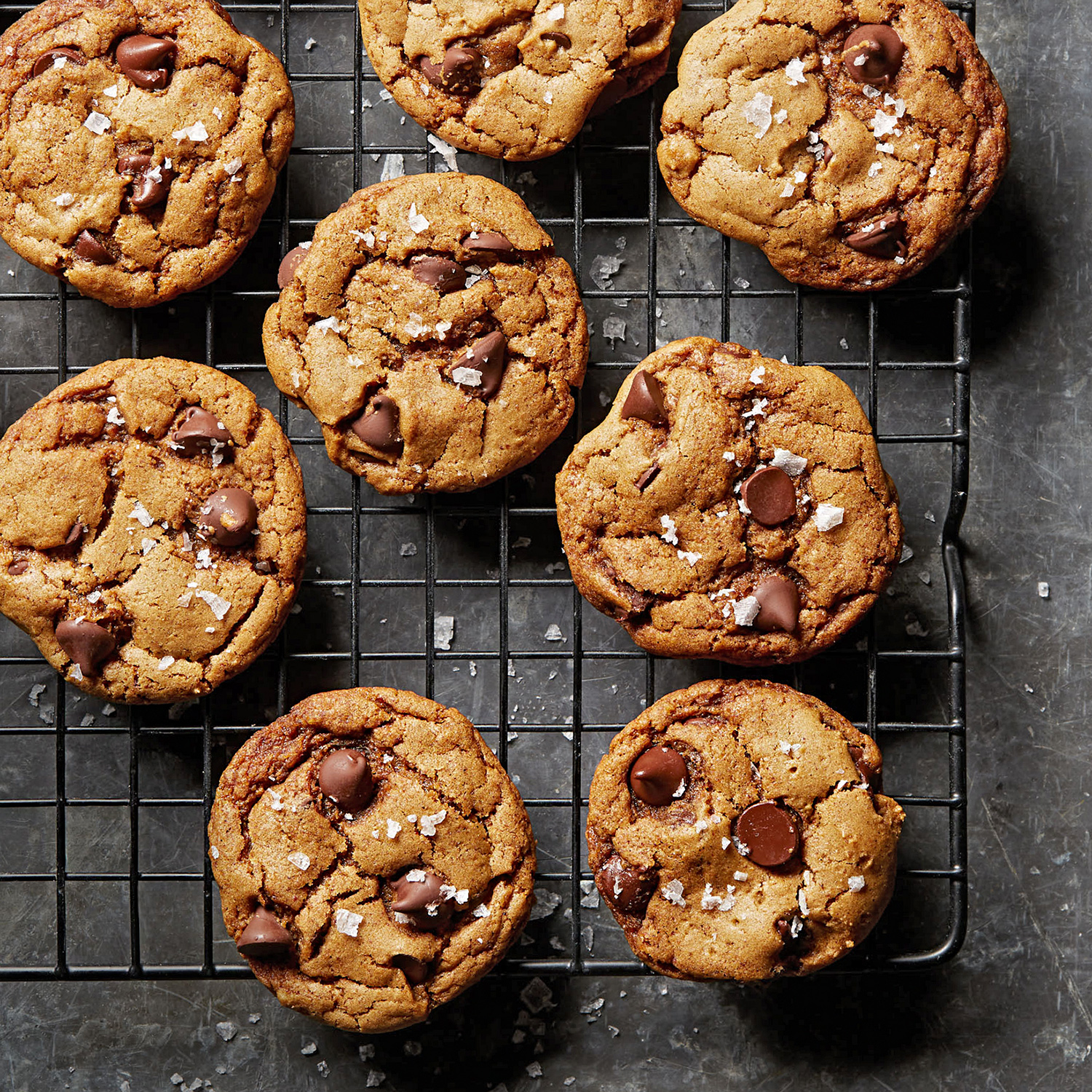 vegan chocolate chip and ancho chile cookies