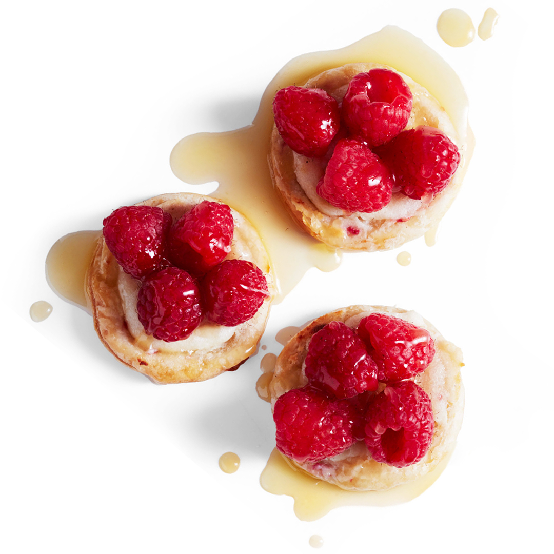 raspberry-almond breakfast bites
