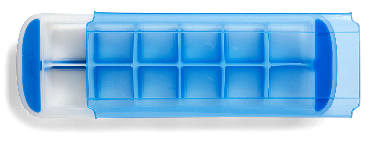 goodcook touch silicone ice cube tray