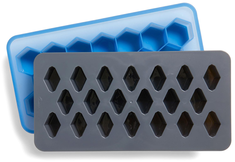 rabbit geometric ice cube trio mold