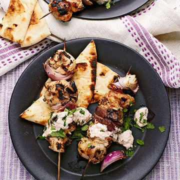 Grilled Chicken Tikka Skewers