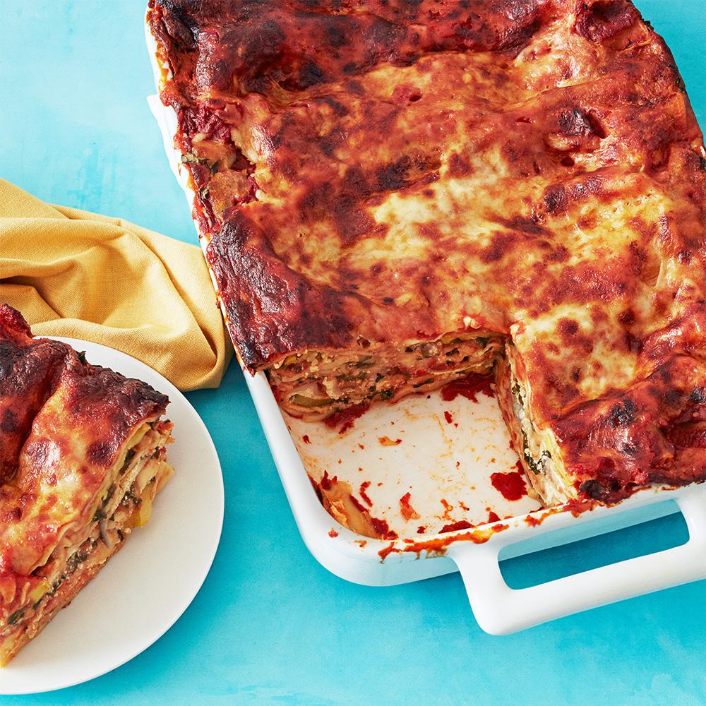 Farmers' Market Lasagna