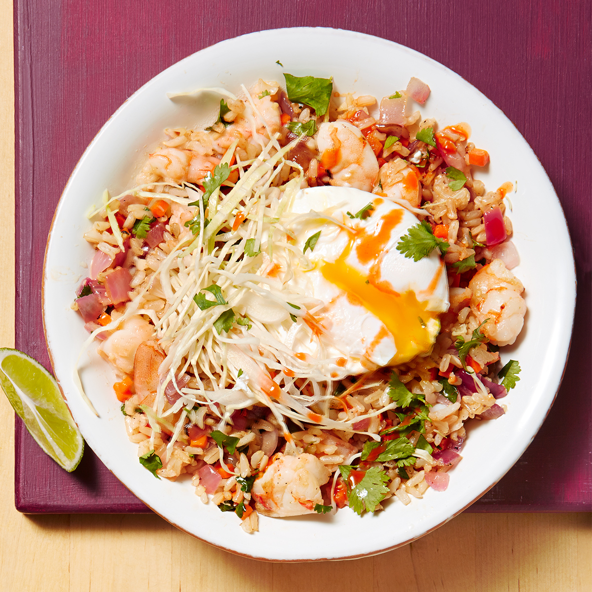 Spicy Shrimp & Brown Rice Bowl