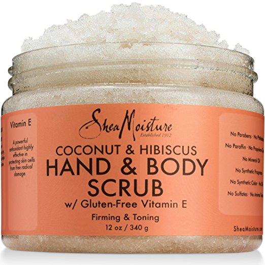 sheamoisture hand and body scrub