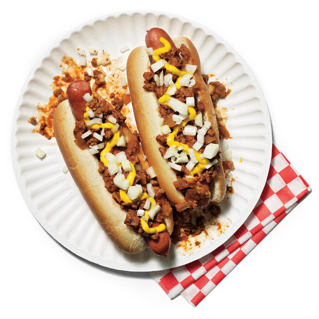 classic coney island hot dogs