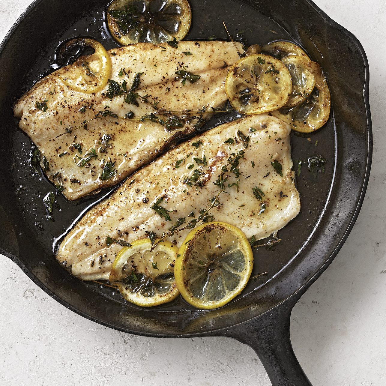 Trout with Lemon & Herbs