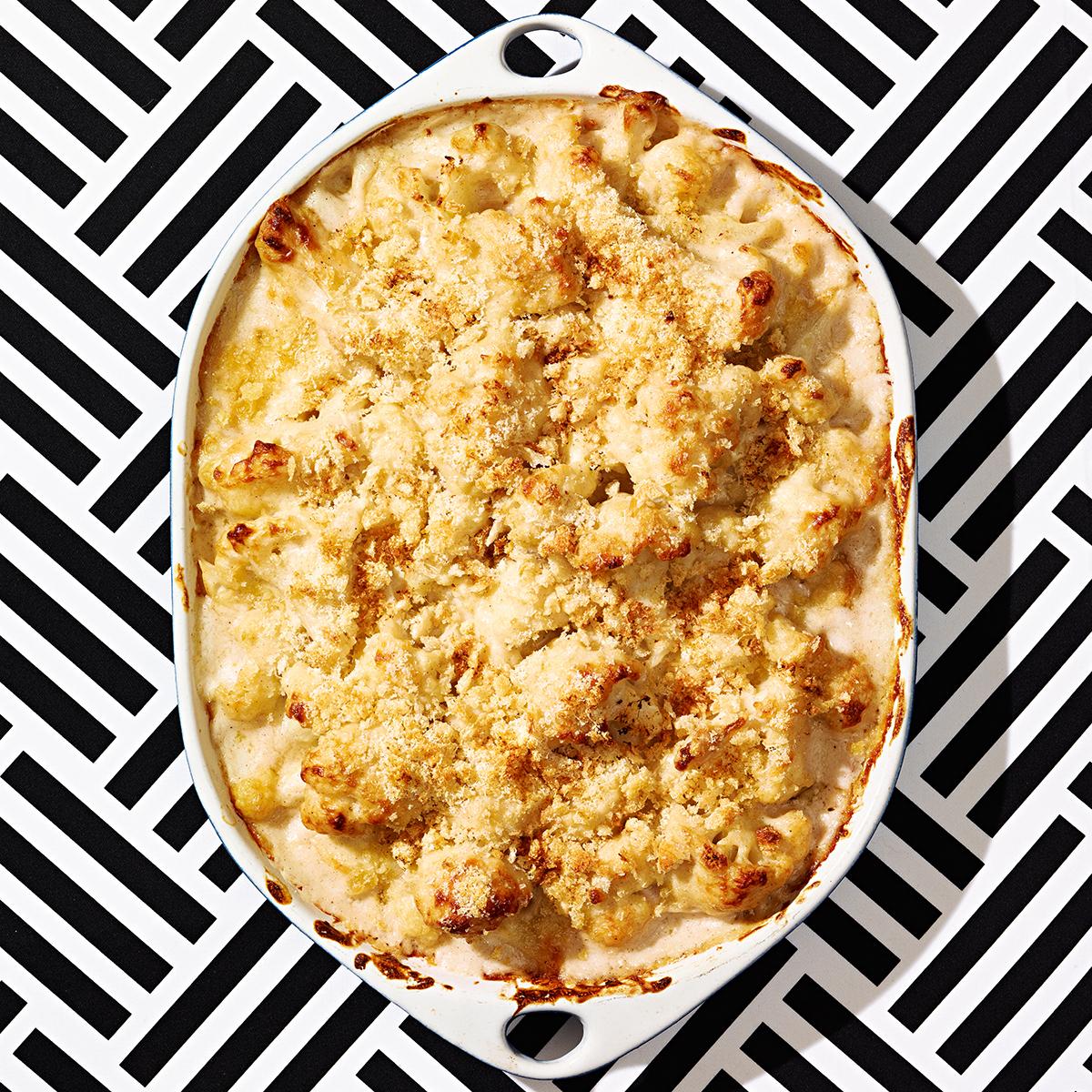 pumpkin spice cauliflower casserole