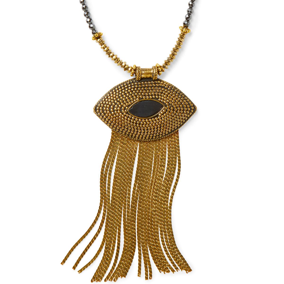 marquis pendant necklace