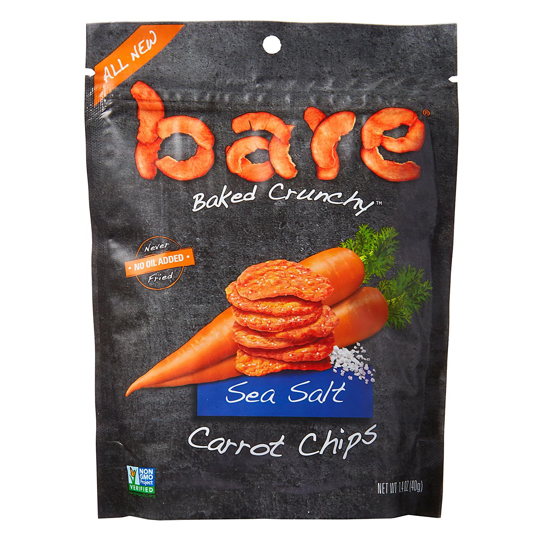 Bare Baked Crunchy Sea Salt Carrot Chips Bag