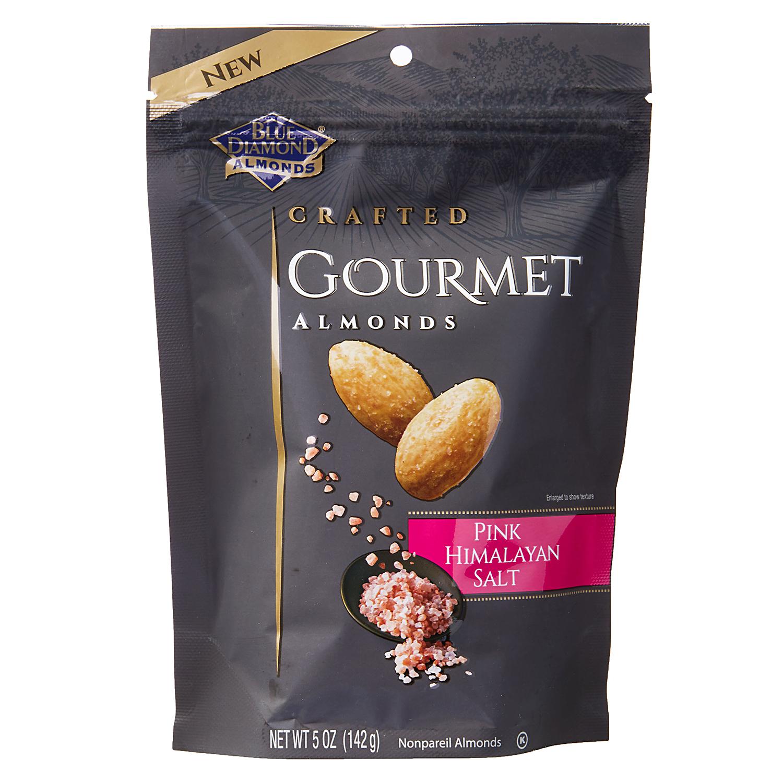 Blue Diamond Crafted Pink Himalayan Salt Gourmet Almond bag