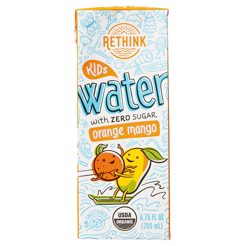 Rethink Orange Mango Kids Water