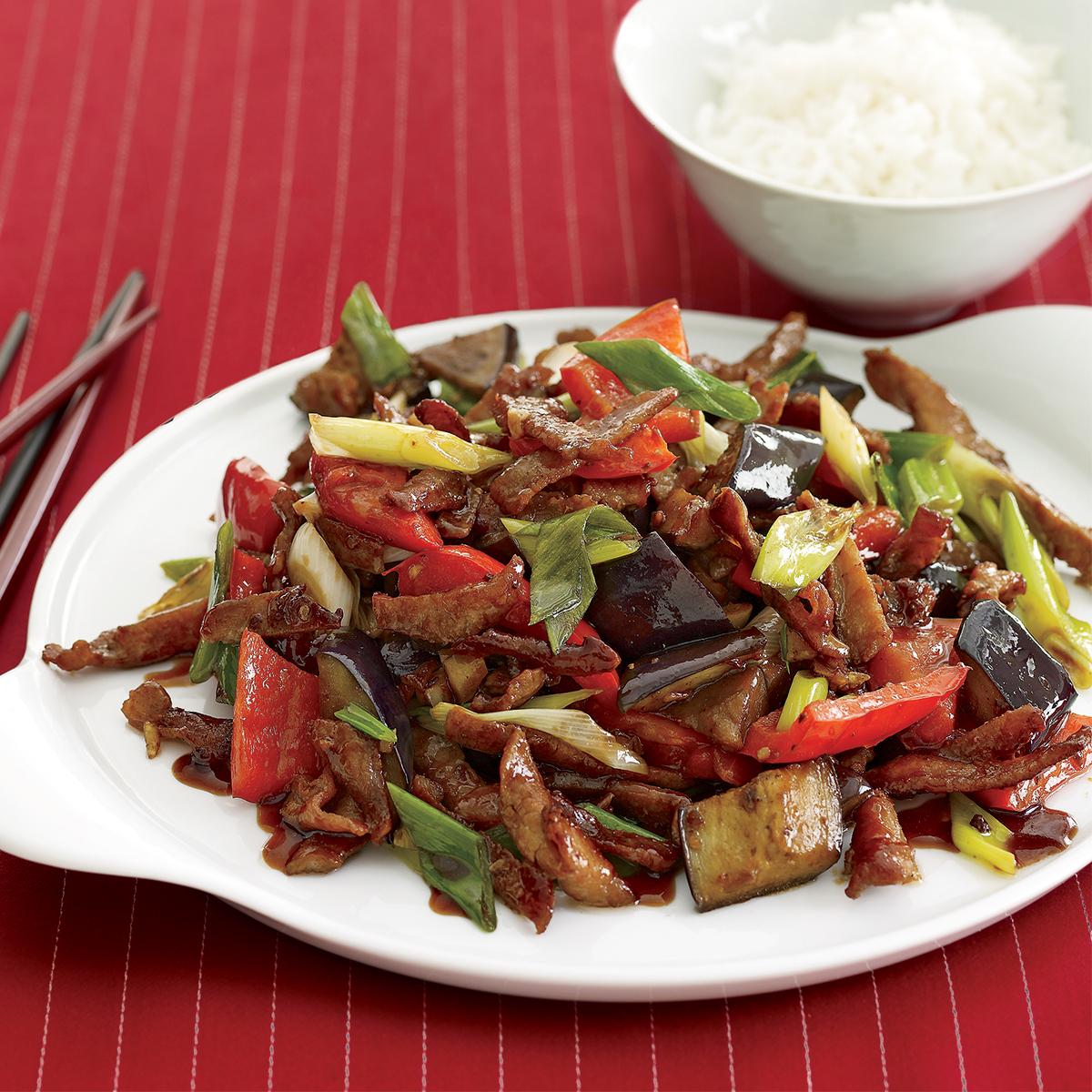 Pork and Bell Pepper Stir-Fry