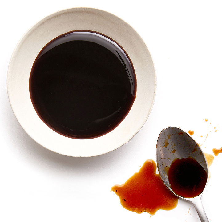 soy-balsamic sauce