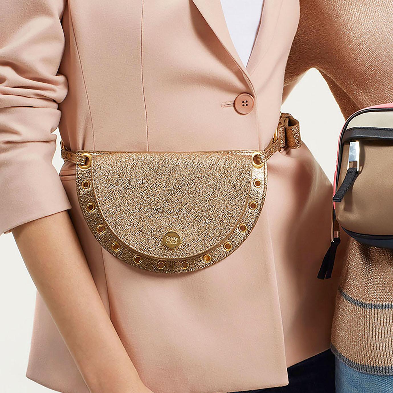 fanny pack chloe kriss convertible leather belt bag