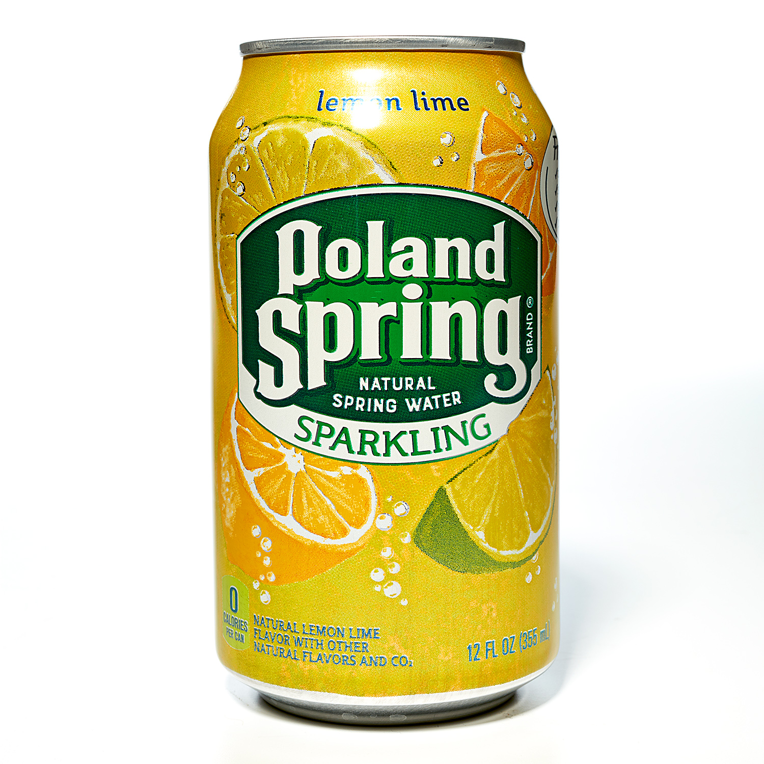 Poland Spring Brand Sparkling Natural Spring Water Can