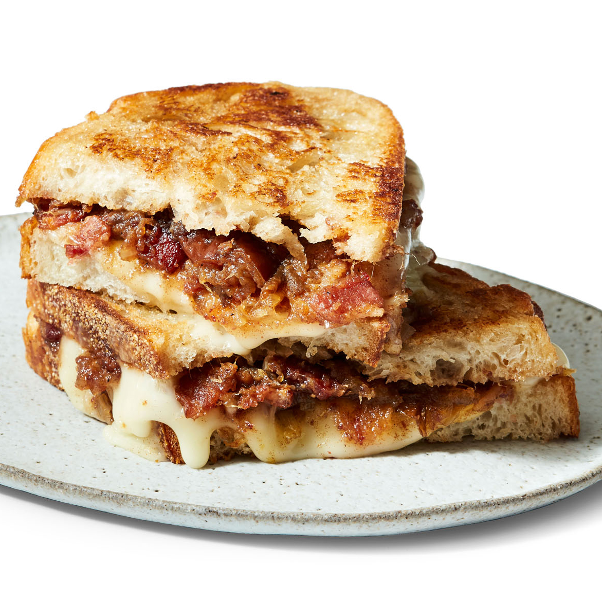 Grilled Cheese with Bacon-Date Jam