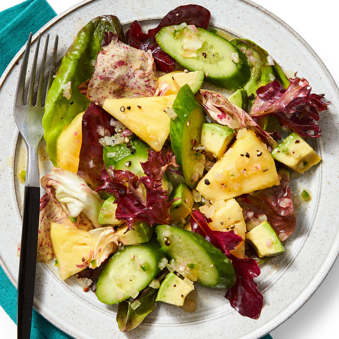 Pineapple-Cucumber Salad