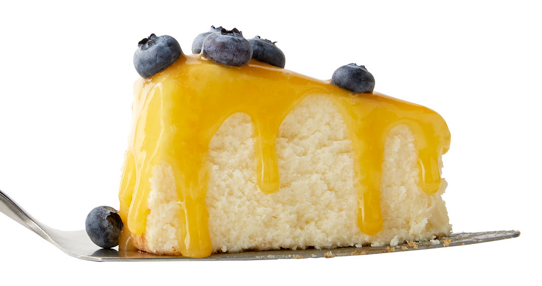 3-ingredient berry good cheesecake