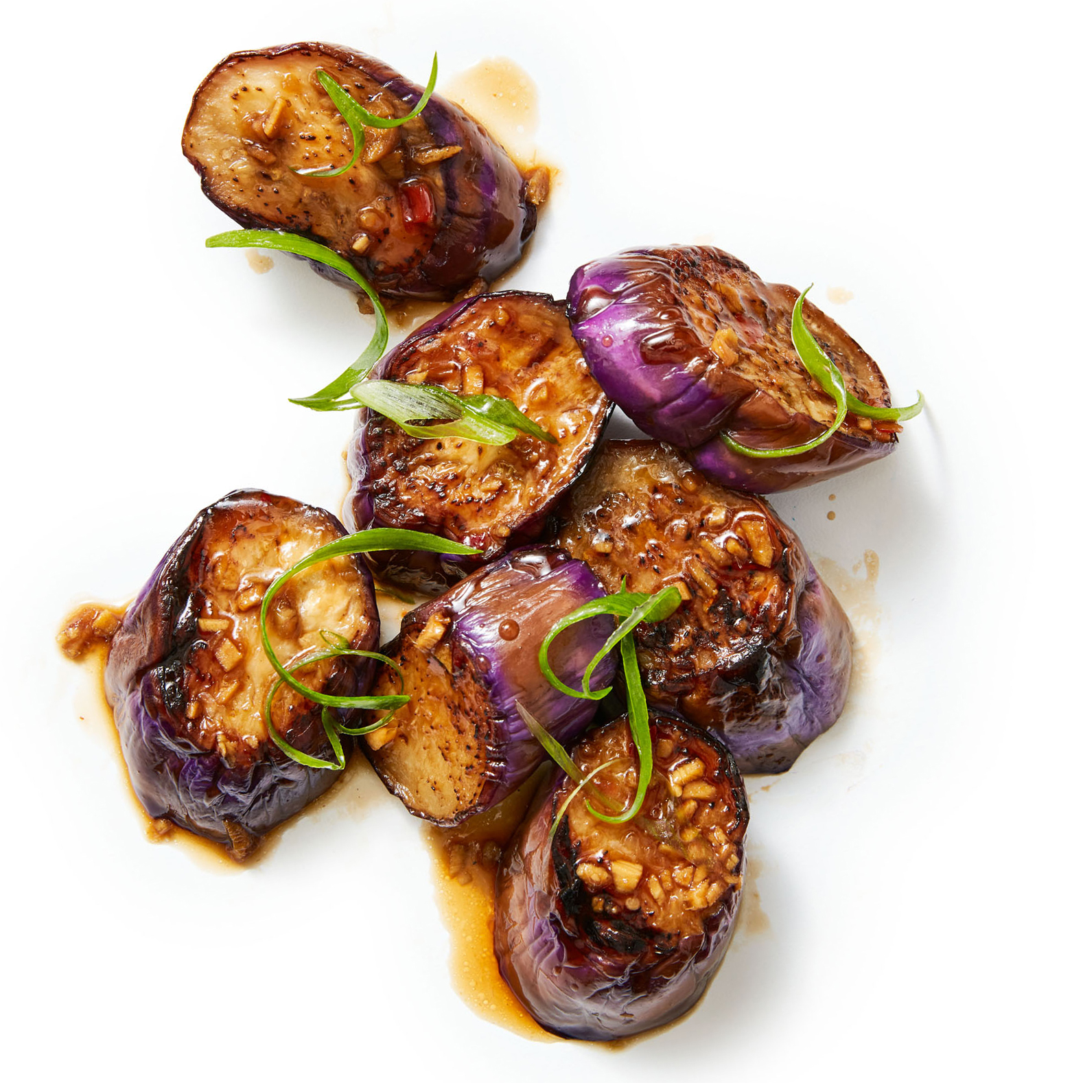 Stir-Fried Eggplant with Ginger