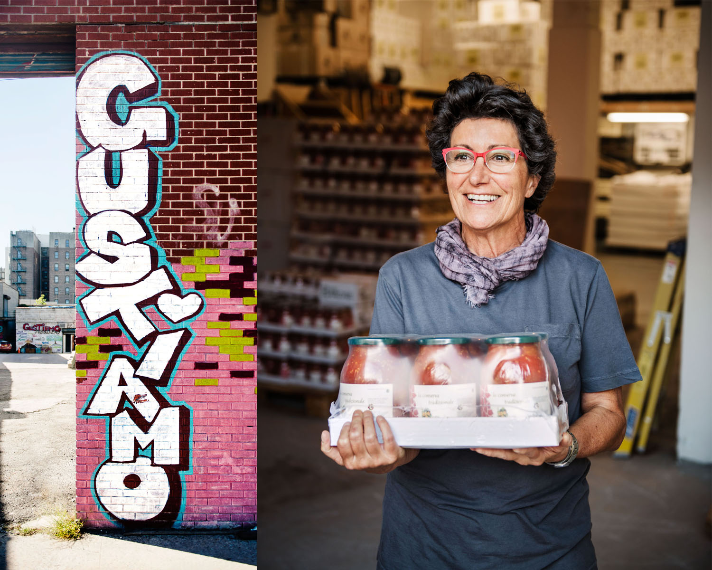 gustiamo graffiti and founder beatrice ughi