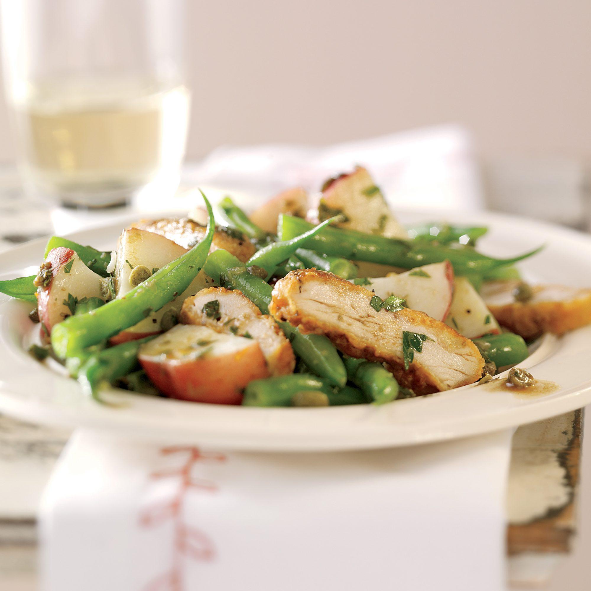 chicken salad piccata