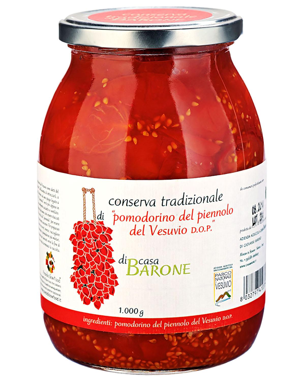 jar of piennolo tomato sauce